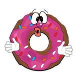 surprised-doughnut-cartoon-vector-illustration-43457602